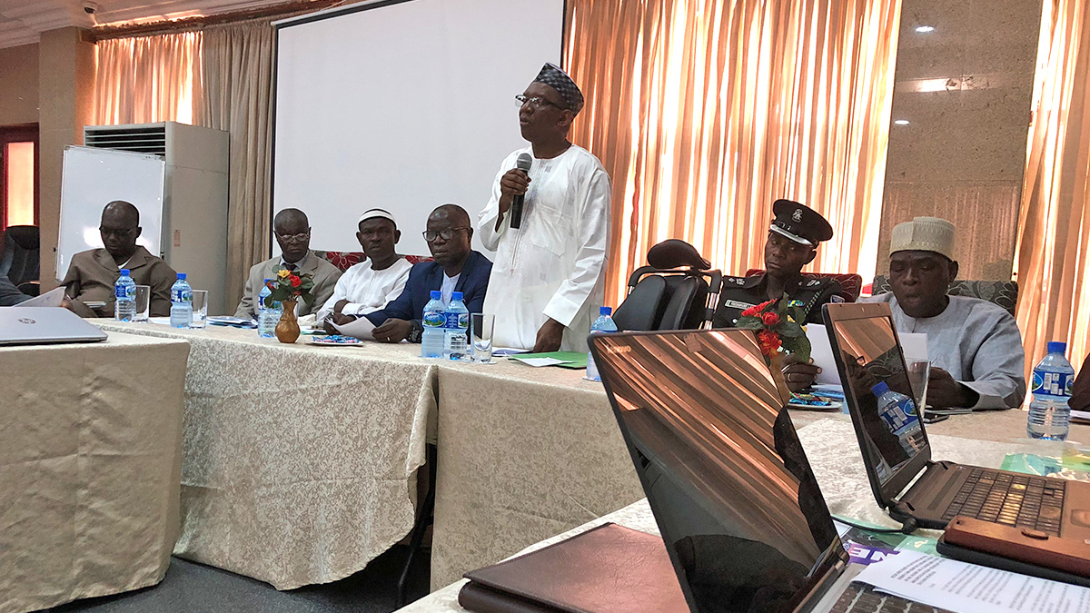Opening Speech of Permanent Secretary, Dr. Abdulkadir Mu´azu