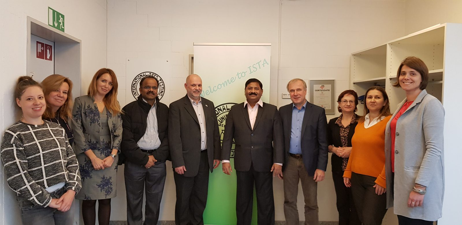 Visit of ISTA office team in Switzerland