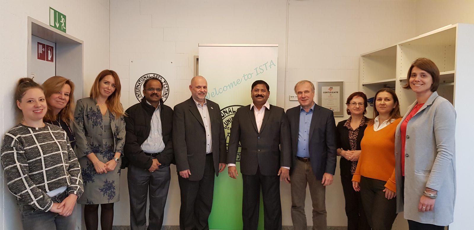 Visit of ISTA office team in Switzerland