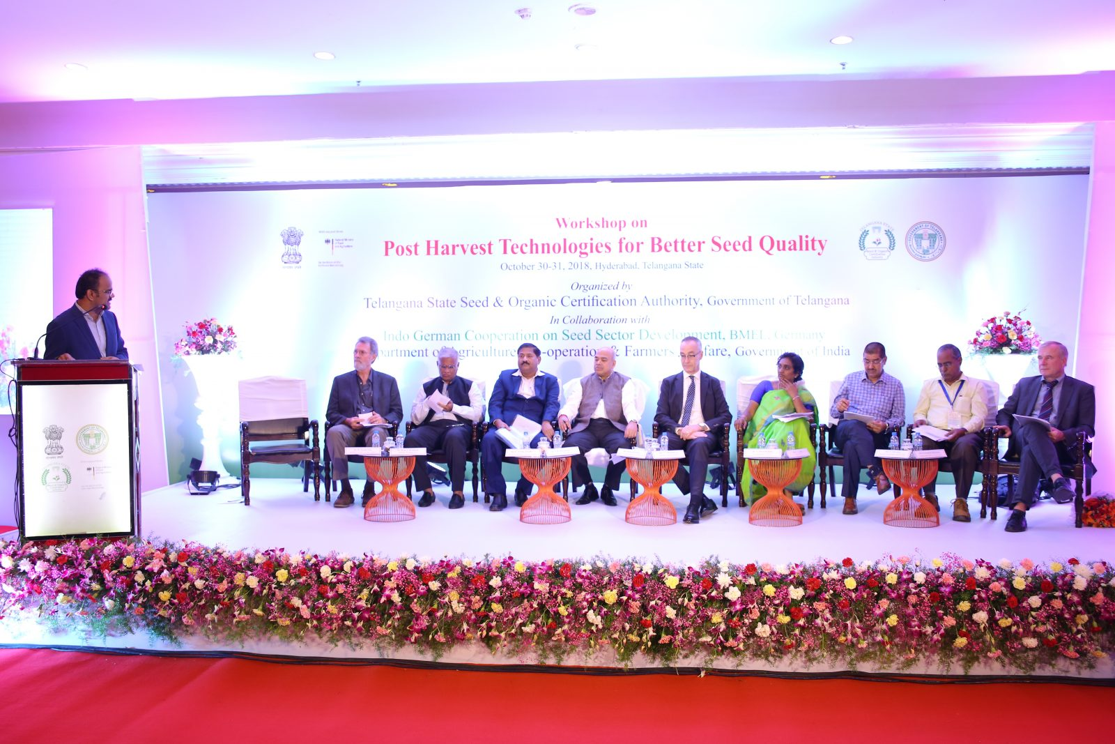 Workshop on post-harvest technologies for better seed quality in Hyderabad