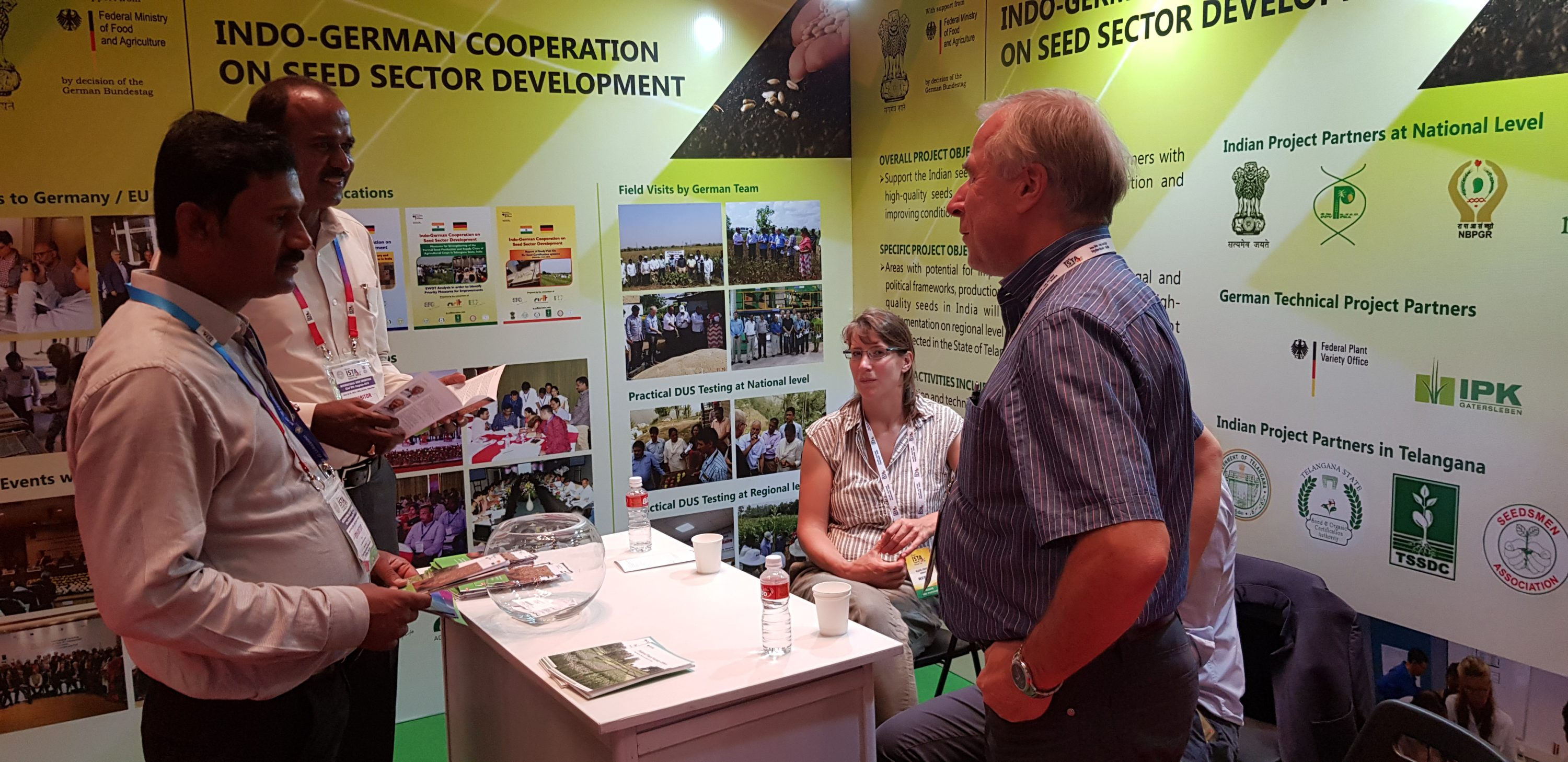 International Seed Exhibition and ISTA Symposium in Hyderabad, India